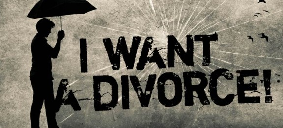 I WANT A DIVORCE: The words heard, often in anger, every single day